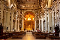 Interior of the Cathedral in Modena, Emilia-Romagna, Italy