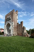 Arch of Augustus, Rimini, Emilia-Romagna, Italy