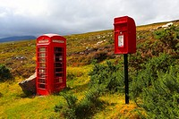 1, phone call, mailboxes, British, English, Great Britain, highlands, cabin, castes, box, communication, brand name, Payphone, t