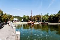Harbor, Ahrenshoop, Fischland_Darss_Zingst, Mecklenburg_Vorpommern, Germany