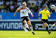 Kim Kulig, FIFA U-20 Women's World Cup 2010, Group A, Germany - Costa Rica 4:2 in the Ruhrstadion stadium, Bochum, North Rhine-Westphalia, Germany, Eu...
