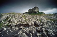 Ruins of Duart Castle, Isle of Mull, Inner Hebrides, Scotland, Great britain