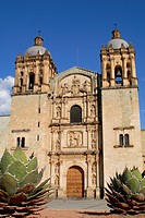 Church of the former Dominican monastery of Santo Domingo in Oaxaca de Juarez, Oaxaca, Mexico, North America