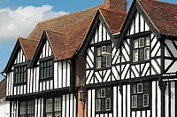 A Tudor building in Stratford upon Avon, UK