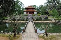 Minh Lau Pavilion, mausoleum of the Emperor Minh Mang, Hue, North Vietnam, Vietnam, Southeast Asia, Asia