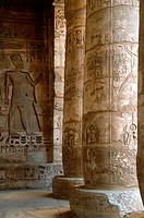 Egypt, Luxor, Thebes, Medinat Habu,