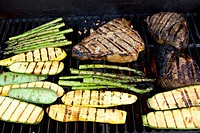 food-on-grill
