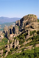 Greece, Thessaly, Meteora, monasteries,