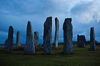 Callanish Standing Stones, Isle of Lewis, Western Isles, Scotland