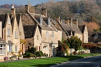 Broadway cottages, Cotswolds, Worcestershire, UK