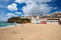 Town view, Carvoeiro, Algarve, Portugal, Europe