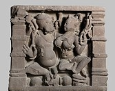 Riddhi Ganeshri 10th century AD Shaiv cult , Kalchurian period found at Jabalpur , Madhya Pradesh , India