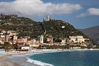 Town of Noli, Italian Riviera, Liguria, Italy, Europe