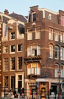 Netherlands, Amsterdam, street scene, typical architecture.