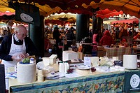 Cheshire Cheese Stall Borough Market London