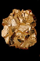 Pyrite FeS2 Iron sulfide - Butte - Montana - Popularly known as ´fool´s gold´ - Formery used in the production of sulfuric acid.