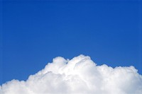 White Clouds and Blue Sky at Pune , Maharashtra , India , Asia