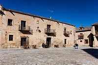 Square of Pedraza, Segovia, Castilla y Leon, Spain