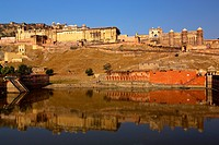 Amber fort , Jaipur , Rajasthan , India