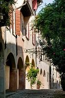 Italy, Veneto, Treviso, vicolo Dotti.