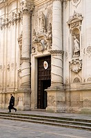 Church of San Giovanni Battista (aka Rosary church), Lecce, Apulia, Italy