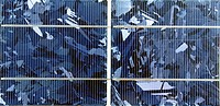 Close_up of a solar cell
