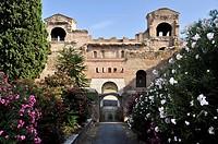 Porta Asinaria, Aurelian Wall, Piazza di Porta San Giovanni, Rome, Lazio, Italy, Europe
