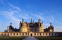 Château de Chambord Castle, Loire Valley, Indre-et-Loire, Centre, France, Europe