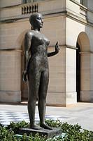 La Beauge statue, Orleans, Loiret department, Centre region, France, Europe