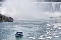 Niagara Falls, Horseshoe Falls, Maid of the Mist Boat, Canada