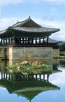 Anapji (Anap Pond), Gyeongju, South Korea