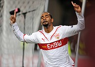 CACAU, VfB Stuttgart, celebrating a goal