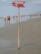 Dangerous Sign, Praia Grande, São Paulo, Brazil