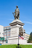 Civil War Monument in downtown Portland, Maine
