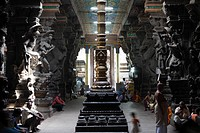 Srivilliputhur Andal temple, Srivilliputtur, Tamil Nadu, Tamilnadu, South India, India, Asia