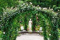 Rose garden in Baden_Baden