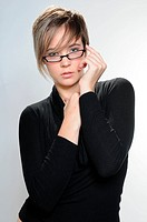 Girl with glasses