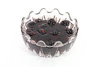 Compot of blackberries