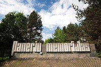 Lithuania, Vilnius-area, Paneriai, Paneriu memorialas, site of the Nazi deathcamp in World War Two where most of the Jews of Vilnius were massacred