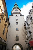 Saint Michaels Tower  Built in the 13th century, it remains the only Gothic gateway remaiining along the Old City walls  Inside is now the Municipal M...
