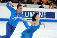 Ice dance - ISU European Championships - Bern Switzerland  Pairs Free Dance  Yuko Kavaguti and Alexander Smirnov  RUS  Photo:Richard Wareham