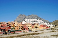 New constructions, settlement, town houses, building boom, Benidorm, Costa Blanca, Alicante province, Spain, Europe
