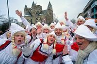 Rosenmontag parade, Carnival 2010, Koblenz, Rhineland-Palatinate, Germany, Europe