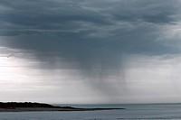 Coastal rainstorm, Broome, Kimberley, Western Australia, Australia