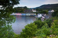 Portree Harbor, Portree, Scotland (thumbnail)