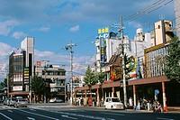Street scene in Kyoto, Japan