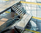 Stairwell in a contemporary office (thumbnail)