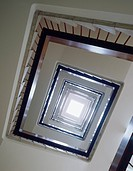 Skylight at the apex of a stairwell
