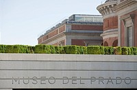 New extension to Prado Museum, Madrid, Spain