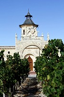 Cos d'Estournel, famous vineyard, St Estephe, Medoc, Aquitaine, France, Europe
